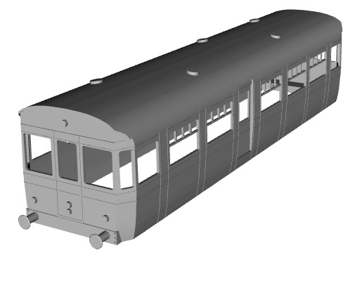 3d Printed Standard Gauge Railcars Br Built